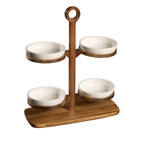 Villeroy & Boch BBQ Passion, Tray Stand Set 5 delig