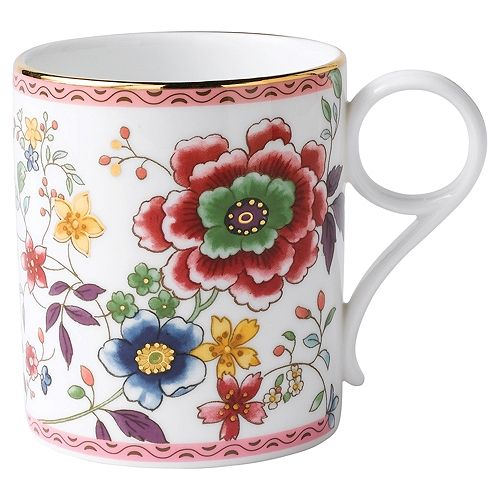 Wedgwood Archive at Wedgwood Pink Chrysanthemum beker