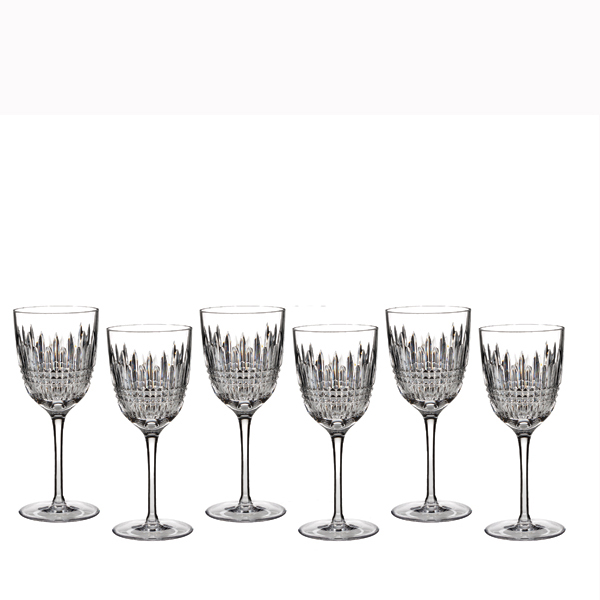 Waterford Lismore Diamond Rode wijnglas - set van 6