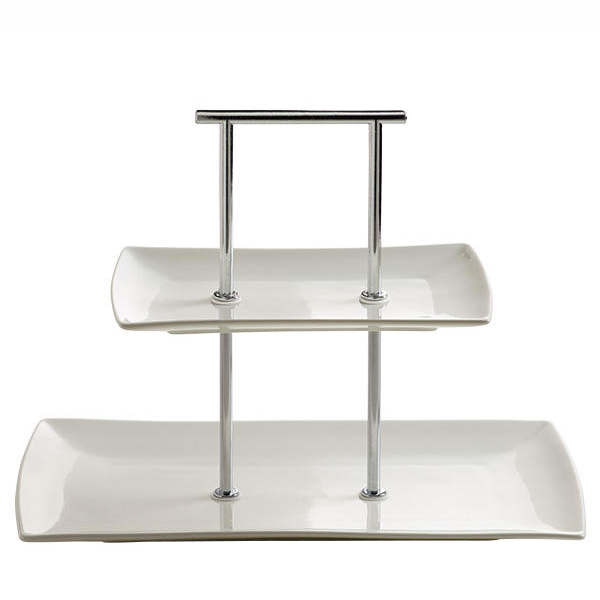 Maxwell & Williams East meets West Etagere 2-Delig (breed)