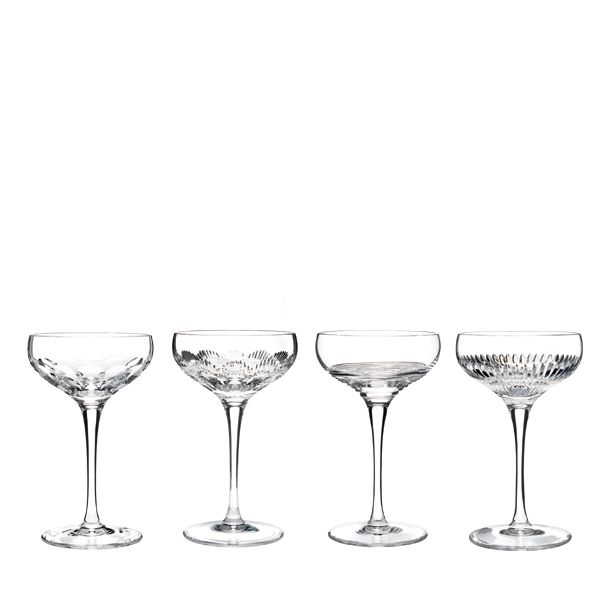 Waterford Mixology Champagne coupe - helder - set van 4