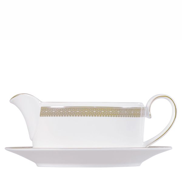 Wedgwood Vera Wang Lace Gold Sauciere 0.35 Liter
