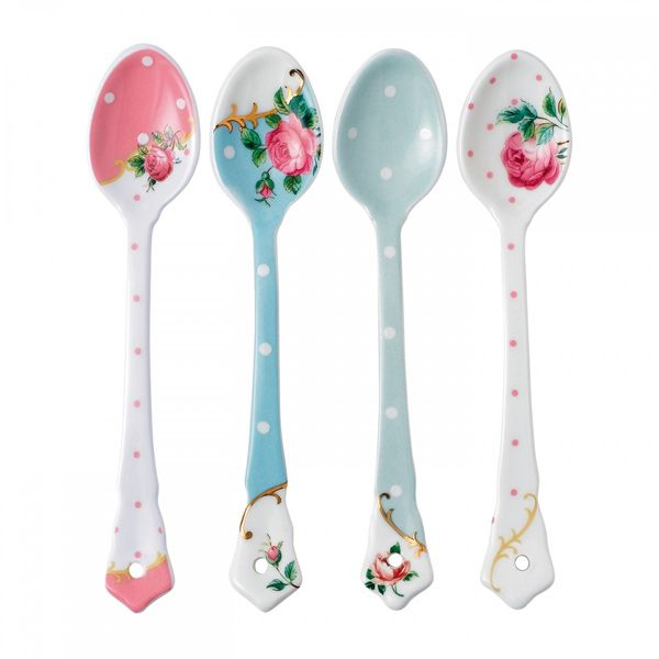 Royal Albert Accessories Lepelset - 4-Delig