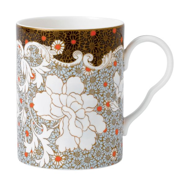 Wedgwood Daisy Tea Time Beker - blauw