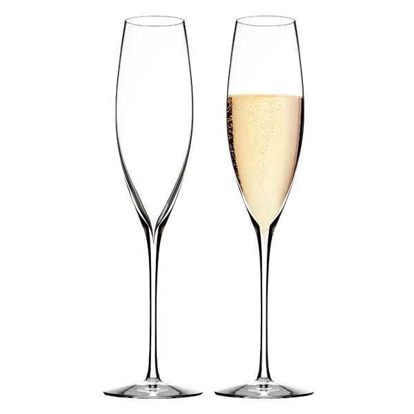 Waterford Elegance Wine Story Champagne Classic flute - 2 Stuks