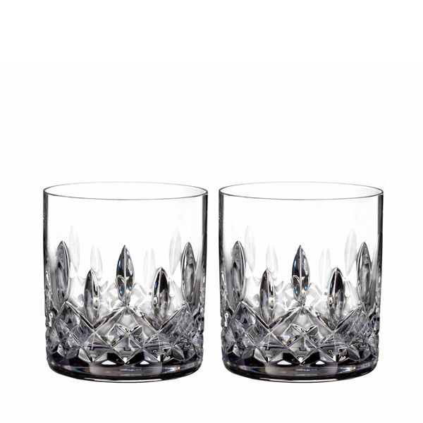 Waterford Lismore Connoisseur Whiskyglas - straight sided - set van 2