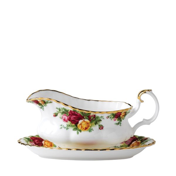 Royal Albert Old Country Roses Sauciere 0.5 Liter