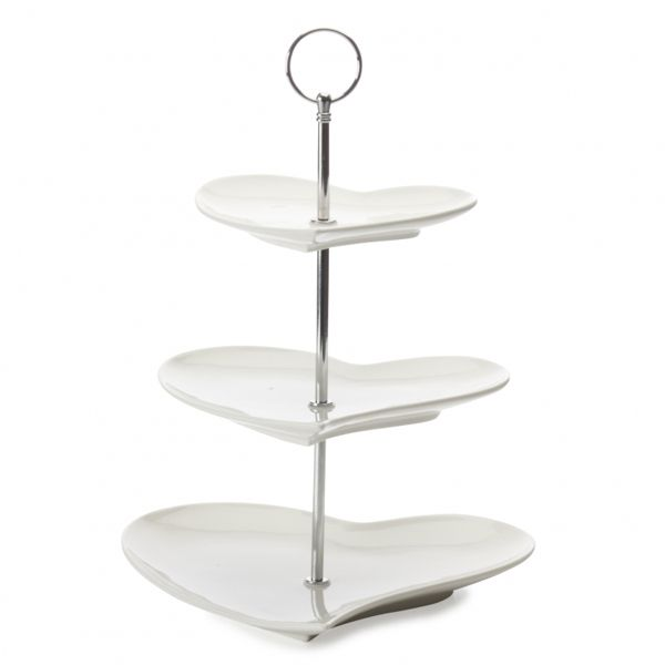 Maxwell & Williams White Basics Etagere 3-Delig