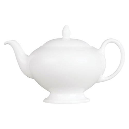 Wedgwood White Theepot, 0.8 Liter