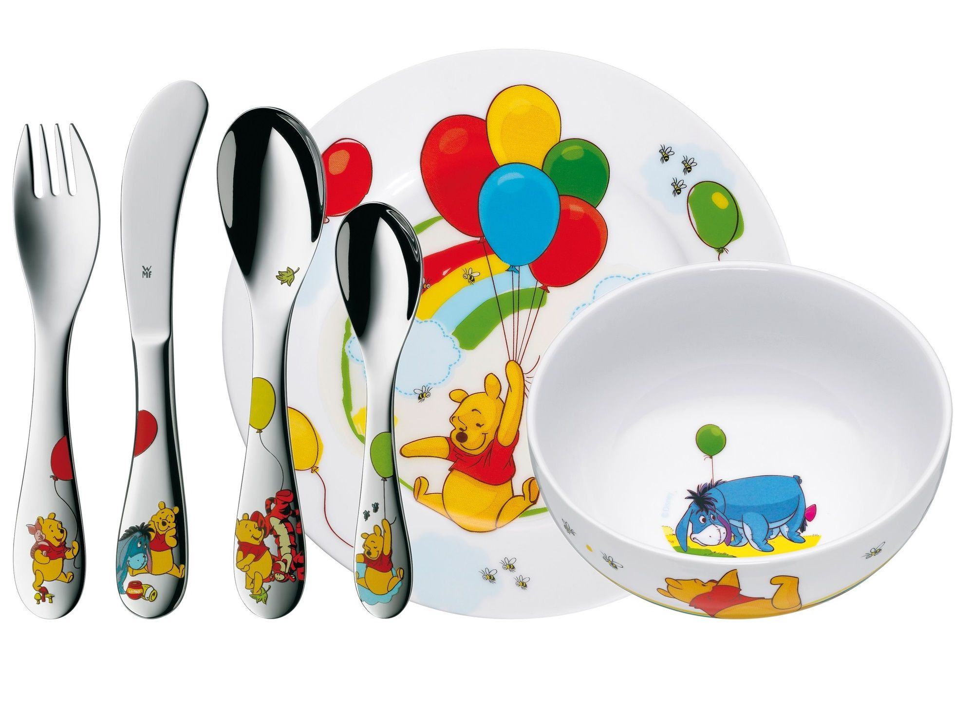WMF Kids Disney Winnie de Poeh kinderservies 6-delig