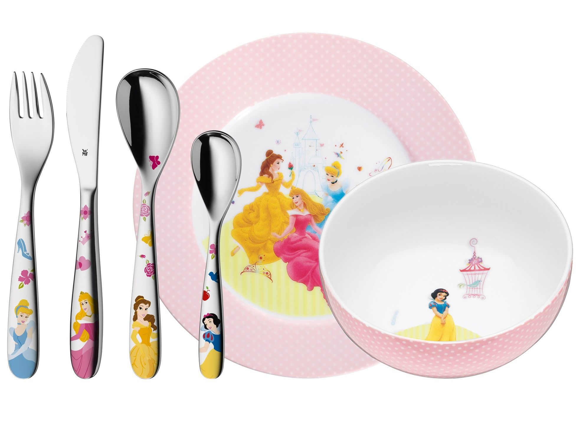 WMF Kids Disney Princess kinderservies 6-delig