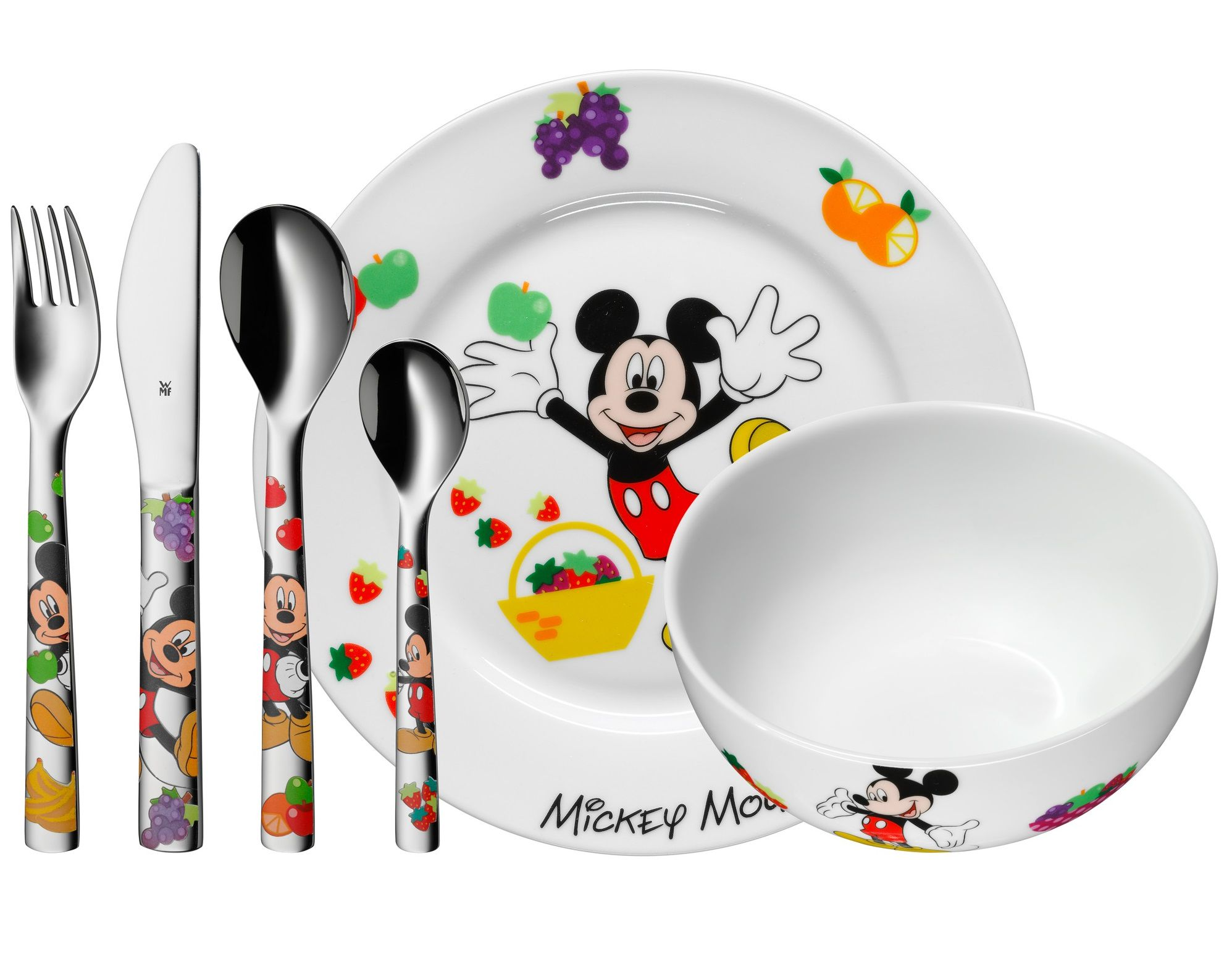 WMF Kids Disney Mickey Mouse kinderservies 6-delig