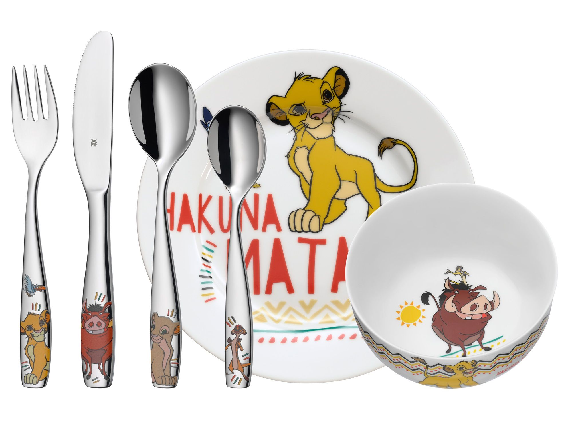 WMF Kids Disney Lion King kinderservies 6-delig