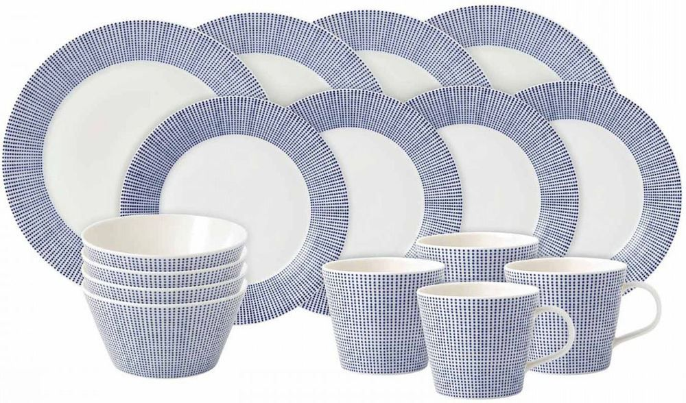 Royal Doulton Pacific 16-delige serviesset - dot
