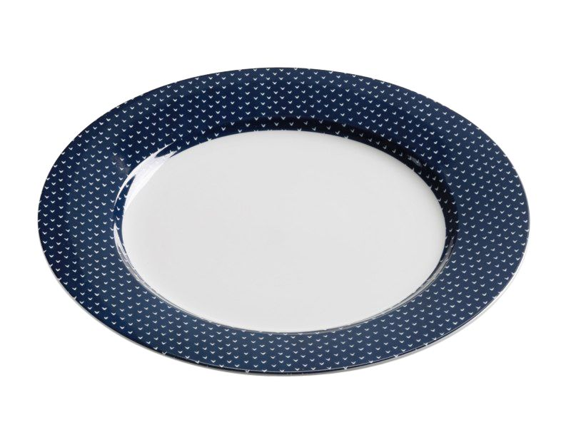 Maxwell & Williams Indigo Dinerbord 27cm - pijl