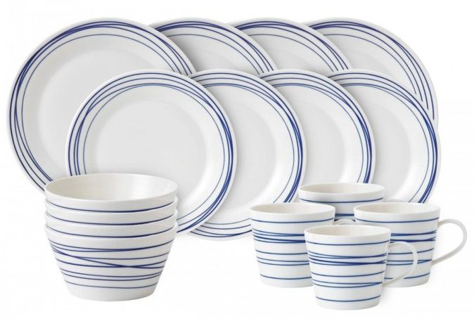 Royal Doulton Pacific serviesset 16-delig - lines