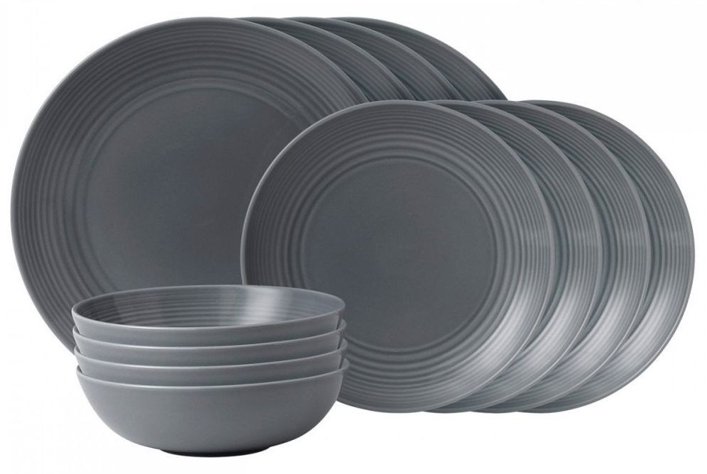 Royal Doulton Gordon Ramsay Maze 12-delige startset - dark grey