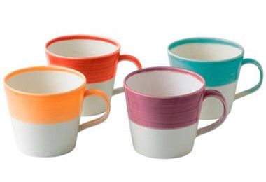 Royal Doulton 1815 Bekers 0.4 Liter - Brights - set van 4