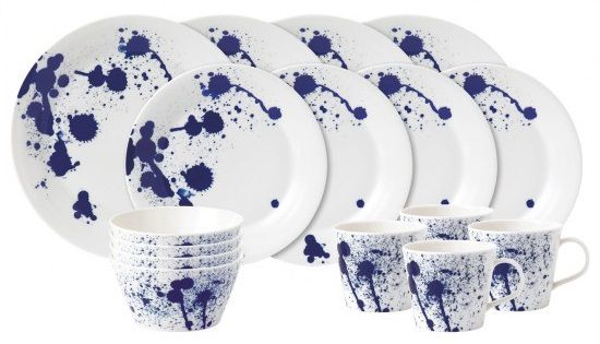 Royal Doulton Pacific 16-delige serviesset - splash