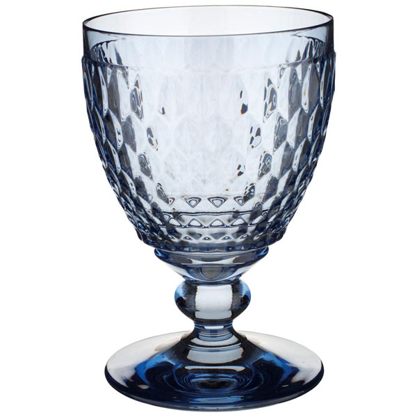 Villeroy & Boch Boston Rode wijnglas 132mm - blauw