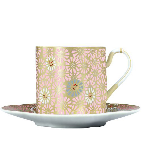 Wedgwood Harlequin Collection Daisy, theekop en schotel